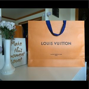Louis Vuitton Gift Bag